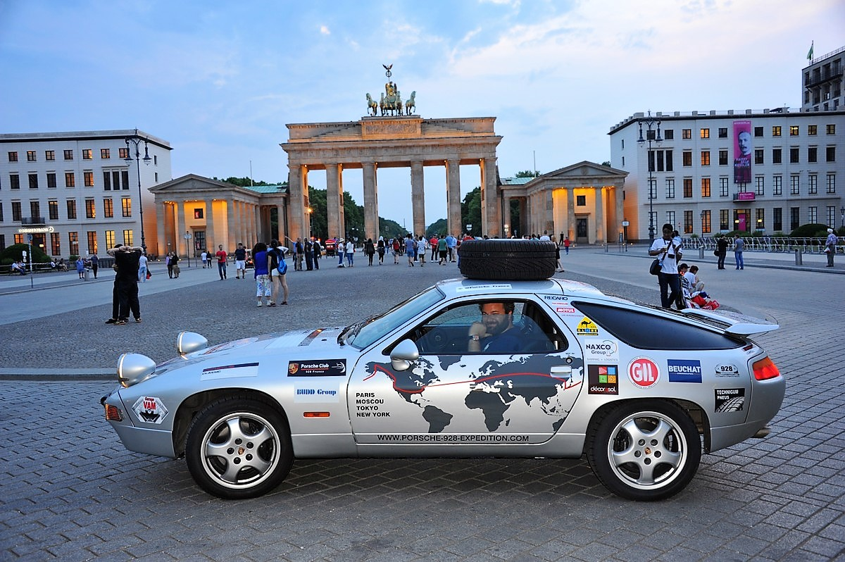 Porsche 928 Expedition 2016 Allemagne Berlin