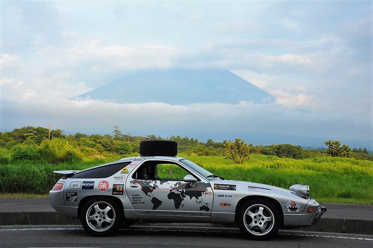 Porsche 928 Expedition Mont Fuji Fujiyama