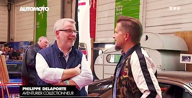 Philippe à l'émission Auto Moto de TF1