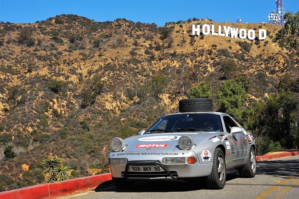 Porsche 928 expedition usa Los Angeles hollywood Magnus Walker