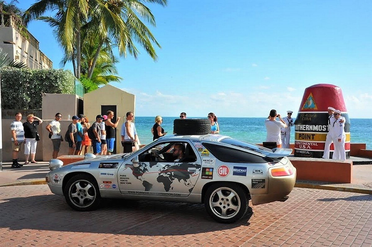 Porsche 928 expedition USA Key West Ernest Hemingway