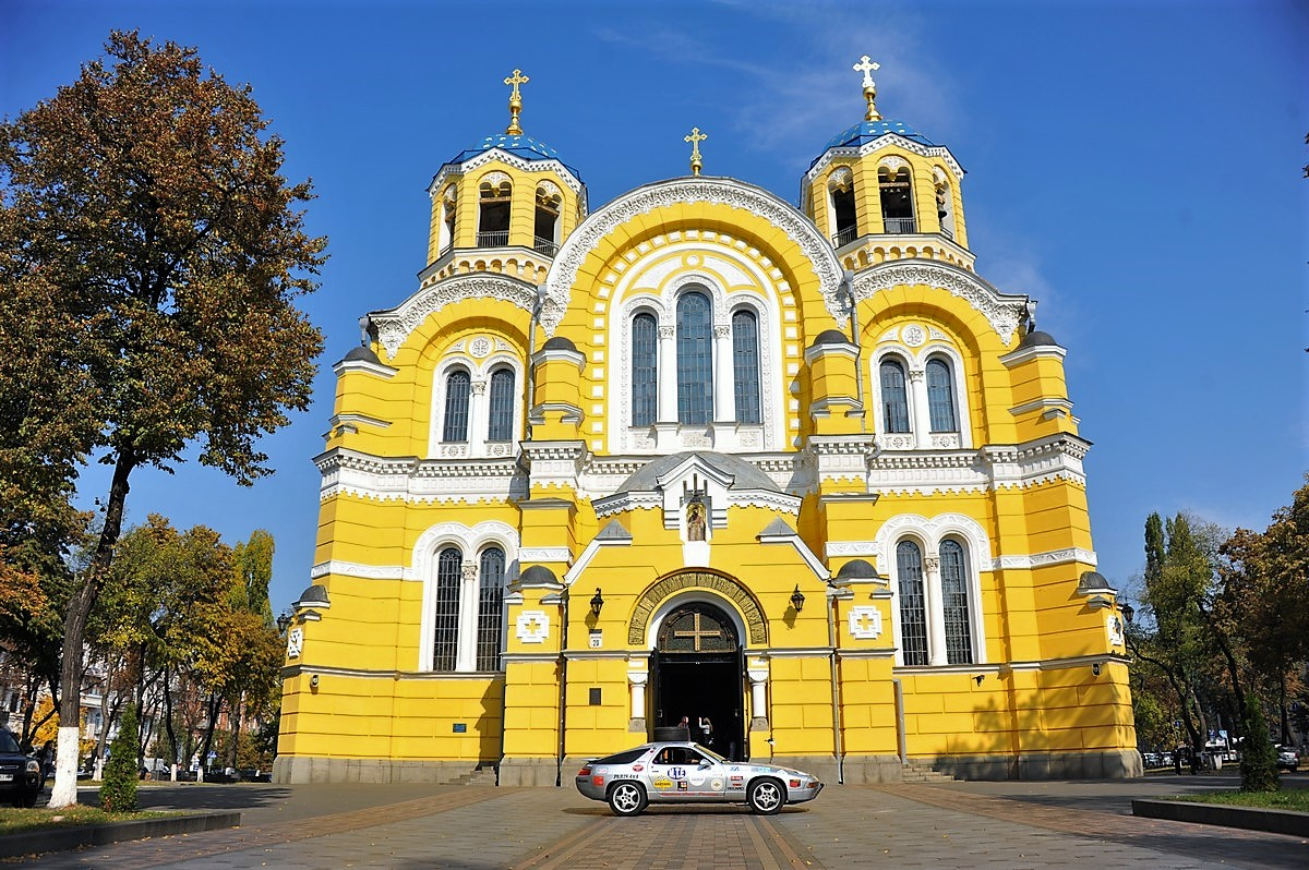 Porsche 928 Expedition Ukraine Kiev Tchernobyln