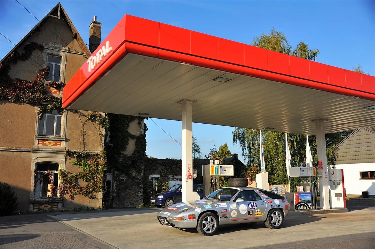Porsche 928 Expedition 2011 Belgique Luxembourg