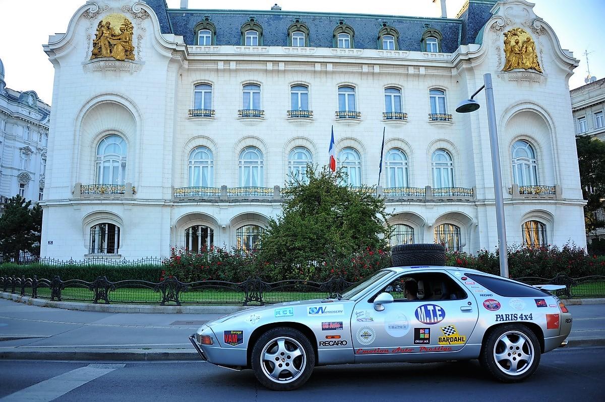Porsche 928 Expedition 2011 Autriche