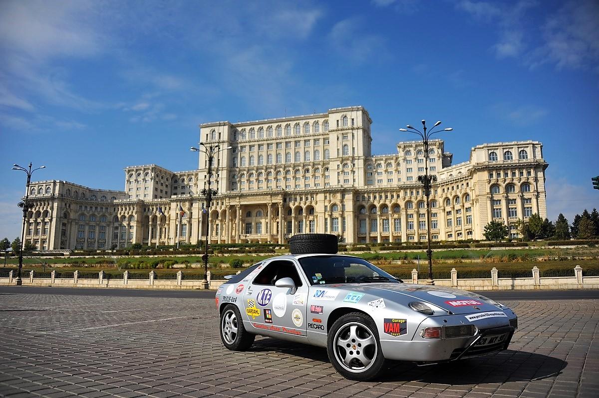 Porsche 928 Expedition 2011 Roumanie Bucarest Transfagarasane