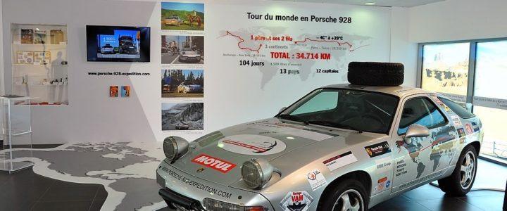 Exposition au PEC du Mans – Porsche Experience Center