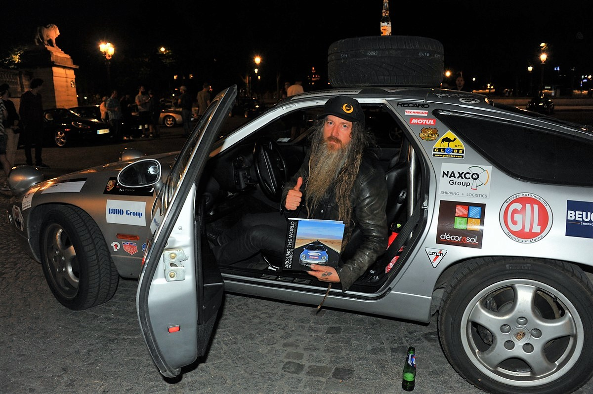 Porsche 928 Expedition Magnus Walker Urban Outlaw Paris Concorde 2017 Philippe Delaporte