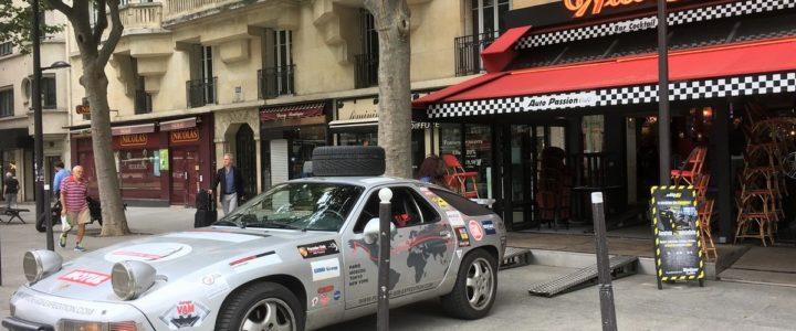Lancement du Livre » Autour du Monde en Porsche «