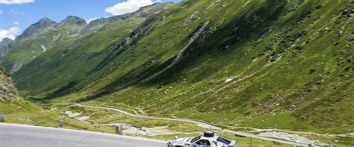 Rallye Silvretta Classic en Autriche avec Porsche Museum Stuttgart