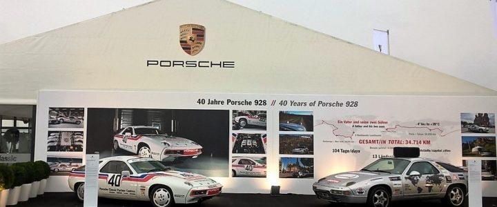Exposition au Classic Oldtimer Grand Prix sur le circuit du Nurburgring