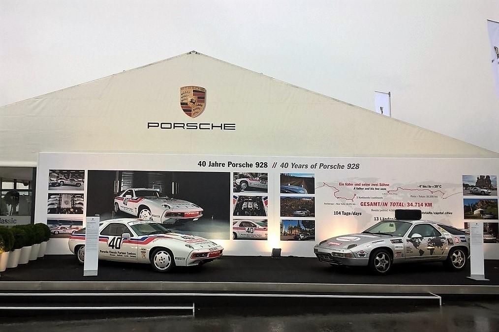 Porsche 928 Expedition Nurburgring Oldtimer Grand Prix 2017 Magnus Walker Porsche Stuttgart Philippe Delaporte
