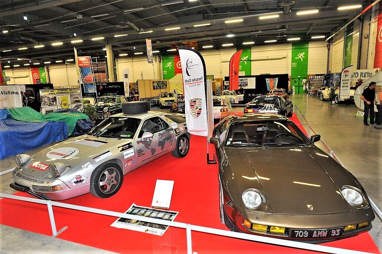 Porsche 928 Expedition Salon Automedon 2017 Automo TF1 Jean Pierre Gagick Philippe Delaporte